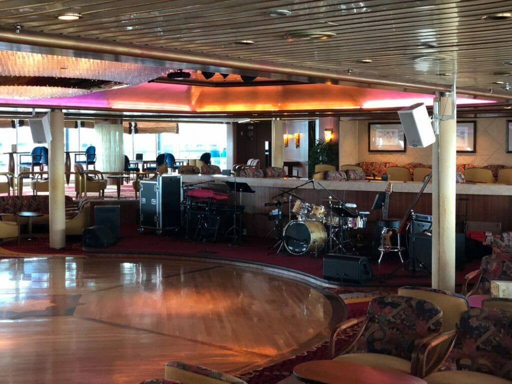 Boleros Bar on the Royal Caribbean Majesty of the Seas