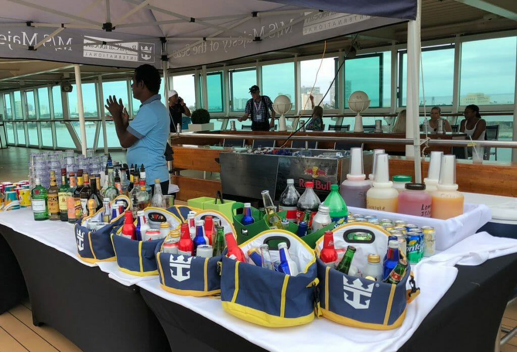 To get the best value for your Royal Caribbean cruise, we recommend getting a drinks package.