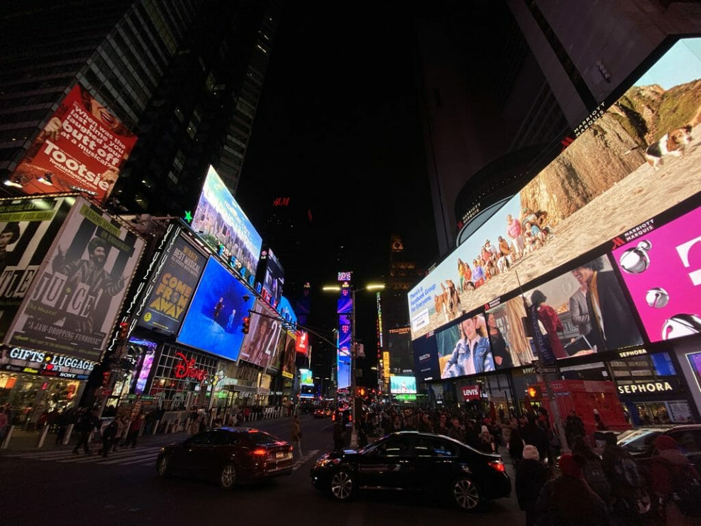 Times Square New York can be chaotic so it's great to escape to The Rum House
