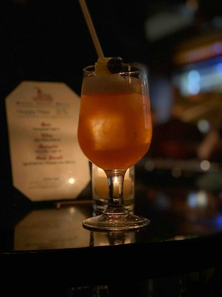 For $10, the Rum House punch is hard to beat