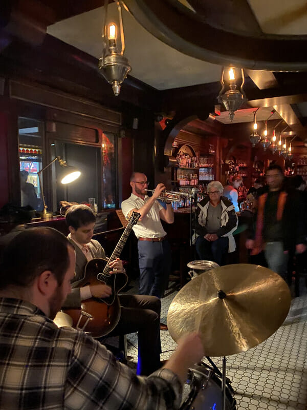 Live jazz and salsa makes for a memorable night at The Rum House, NYC