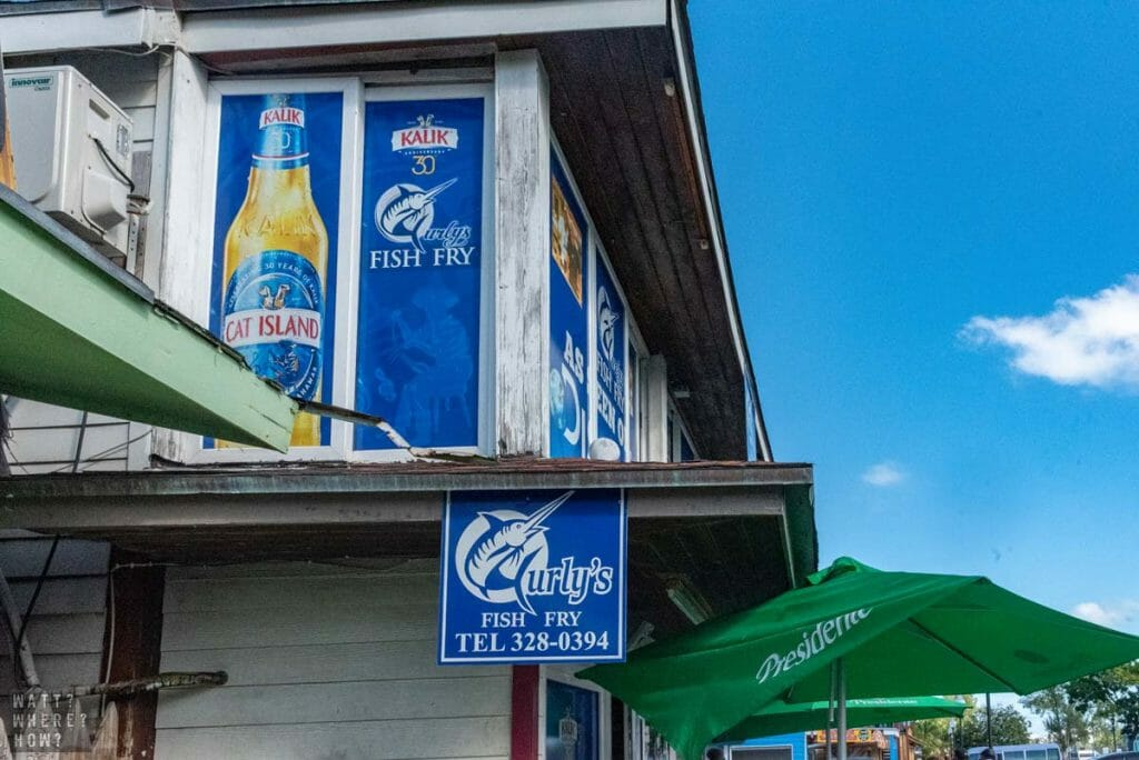 Curly's Fish Fry has a humble exterior that hides the delicious fried food within.